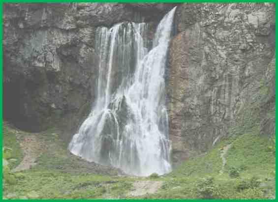 Гегский водопад Абхазии