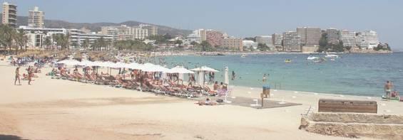 Пляжный курорт Магалуф