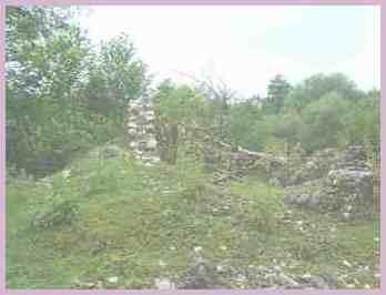 Руины Абхазской стены