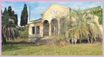 Село Эшера.  Бывший дом Культуры
