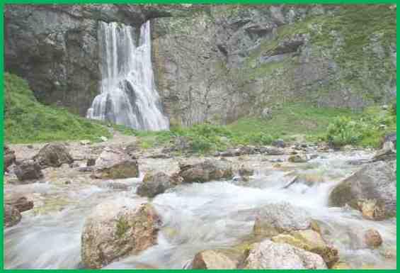 Абхазия. Красивейший Гегский водопад