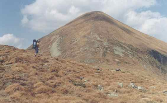 Гора Говерла, Украинские Карпаты. Высота 2061 м