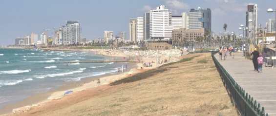Набережная города Тель Авив
